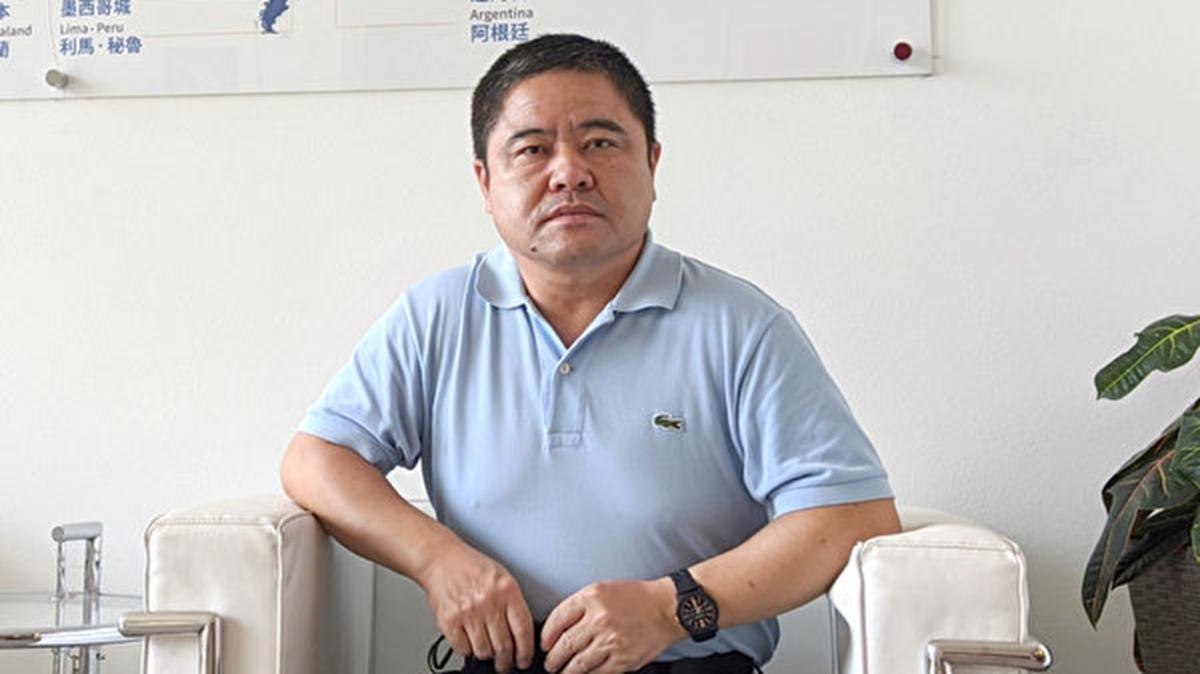 前中國黑龍江省雞西市副市長李傳良8月19日於洛杉磯接受《大紀元》採訪。(徐繡惠/大紀元)
