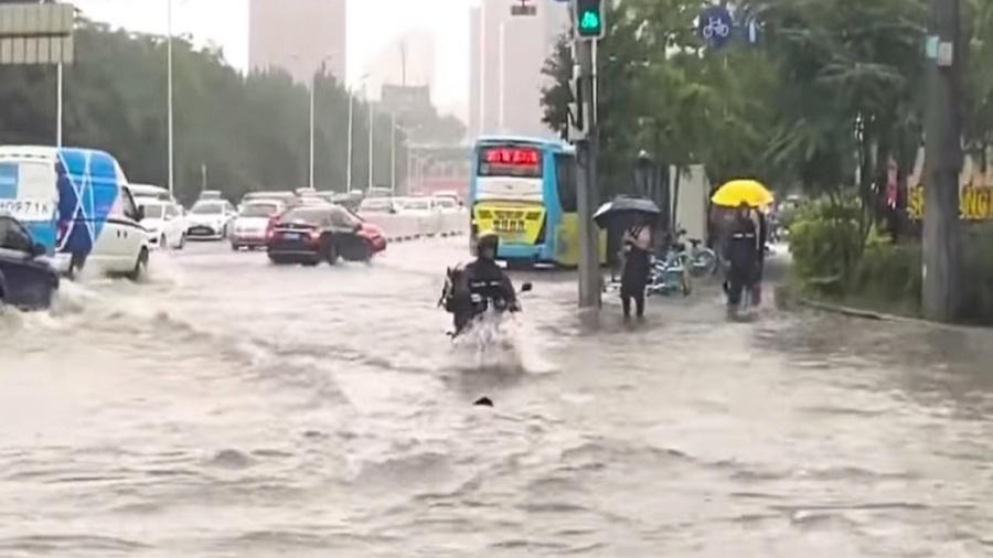 「巴威」發威多地變汪洋 登陸遼寧創最強記錄