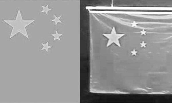 今夏里約奧運會上,印錯的五星旗頻頻在獎牌頒授典禮上亮相。(網絡圖片)