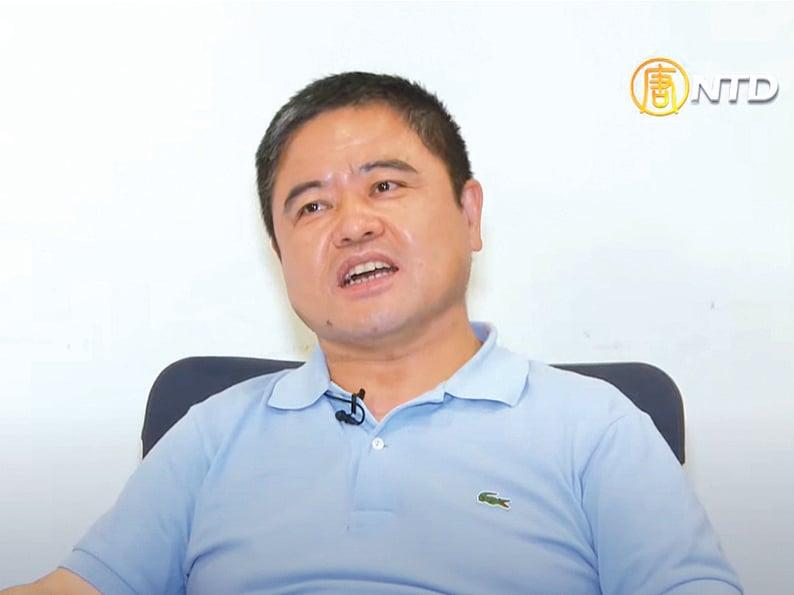 黑龍江雞西市副市長李傳良在美國接受媒體採訪。(影片截圖)