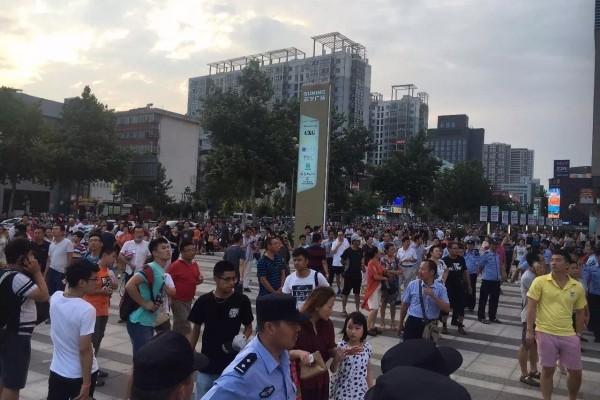 連雲港民眾持續抗議 市府否認建核廢料場