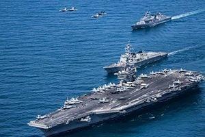 共軍南海發射導彈 美國強硬回應 制裁二十四家中企
