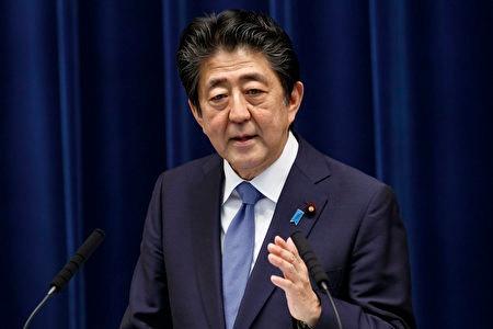 8月28日,日本首相安倍晉三因身體狀況欠佳,決定辭去首相一職。(RODRIGO REYES MARIN/POOL/AFP via Getty Images)