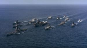 美部署38艘軍艦圍堵中共 軍機闖東海防空識別區