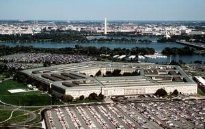 五角大樓增定中共軍事企業 一美國防承包商被起訴