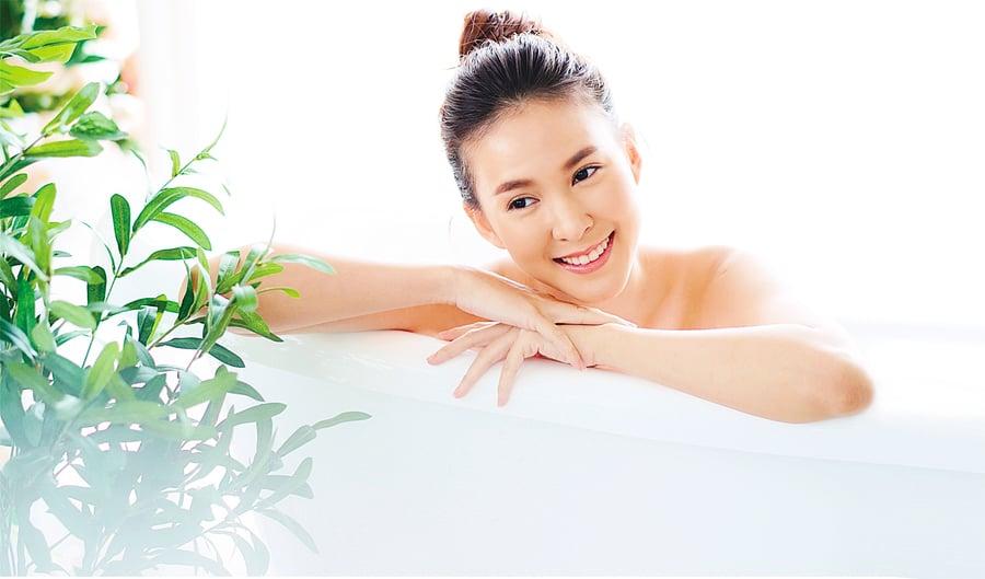 用這五種食物洗澡護膚健身