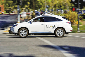 Google無人車測試有341次解除自駕