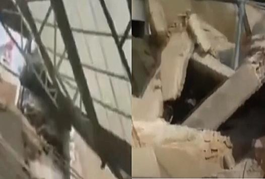 山西一飯店坍塌 二十九死七重傷
