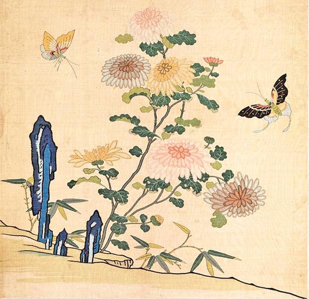 菊花——貞秀馨香霜下傑