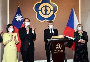 捷克參院議長維斯特奇爾訪台 立院演說:我是台灣人
