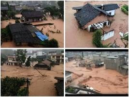 四川雅安再遭暴雨襲擊  民眾苦不堪言