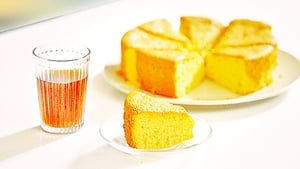 美味的蜂蜜蛋糕