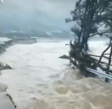 颱風「美莎克」直奔東北 多地遇襲暴雨 六十一座水庫超汛限