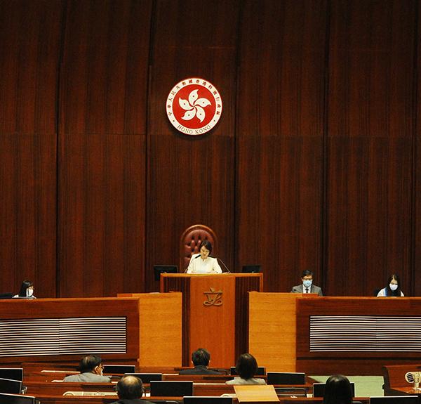 █ 6月18日,立法會通過委任終審法 院常任法官張舉能為終院下任首席法 官。( 大紀元資料圖片)