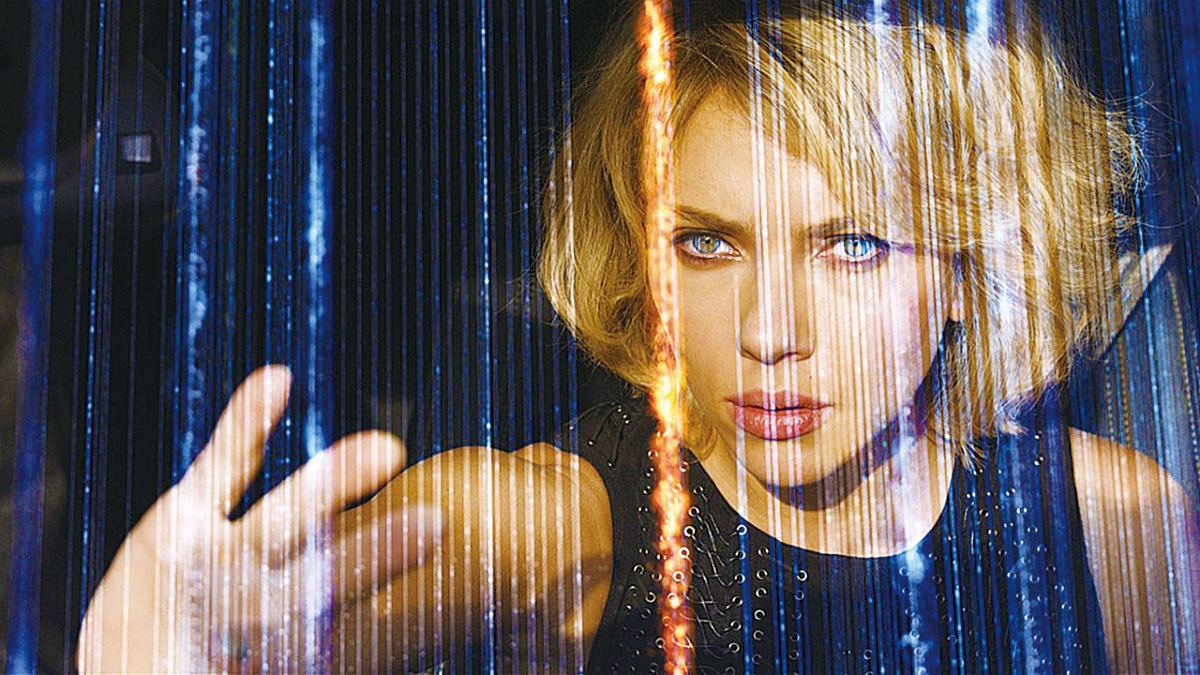 電影Lucy的劇照。(網絡圖片)