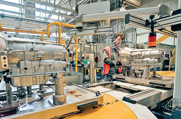 美國通用汽車製造廠。(AFP)