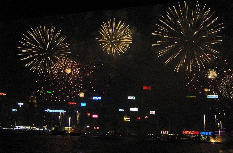 港府宣佈因為疫情取消十一煙花