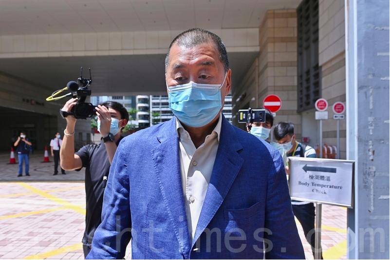 黎智英被控恐嚇《東方日報》記者 今裁定罪名不成立