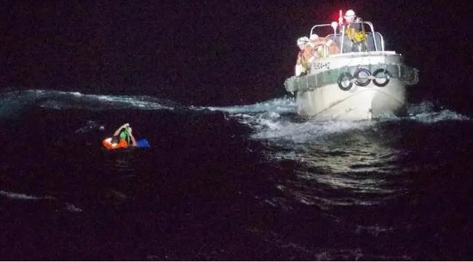 一艘貨輪在東海失蹤 超強颱風「海神」恐將來襲