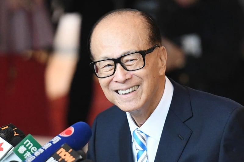 香港富豪李嘉誠日前再度拋售北京和上海的資產,總價值約500億人民幣。(ANTHONY WALLACE/AFP via Getty Images)