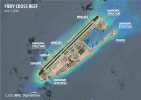 美智庫:中共建強化飛機機庫 南海形勢將變
