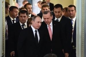 180度大轉彎 土總統會普京 西方緊張觀望