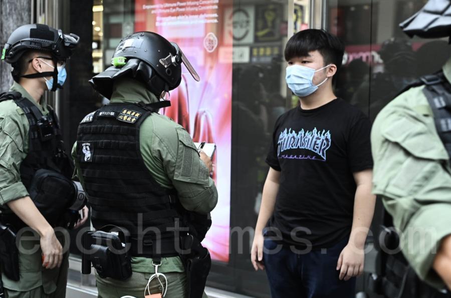 【組圖】抗議選舉被取消 網民發起九龍區大遊行