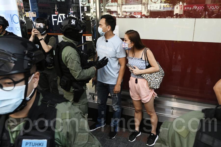 【組圖1】抗議選舉被取消 網民發起九龍區大遊行