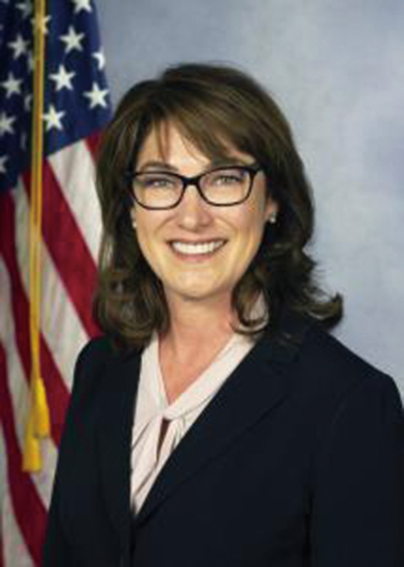 賓夕凡尼亞州眾議員艾薩克森(Mary Isaacson),她簽發了賓夕凡尼亞州眾議院給法輪功學員的褒獎信。(官方照)