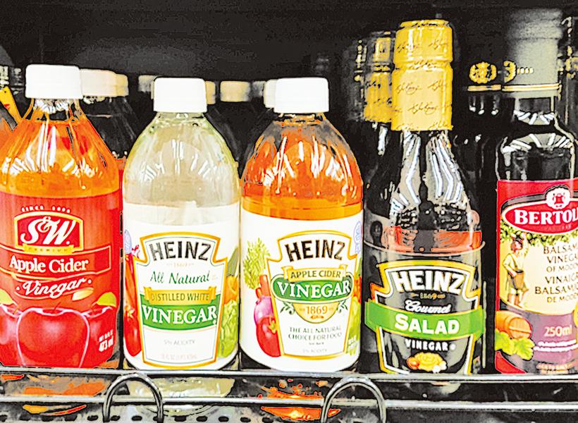 選對醋的種類 製作料理更美味
