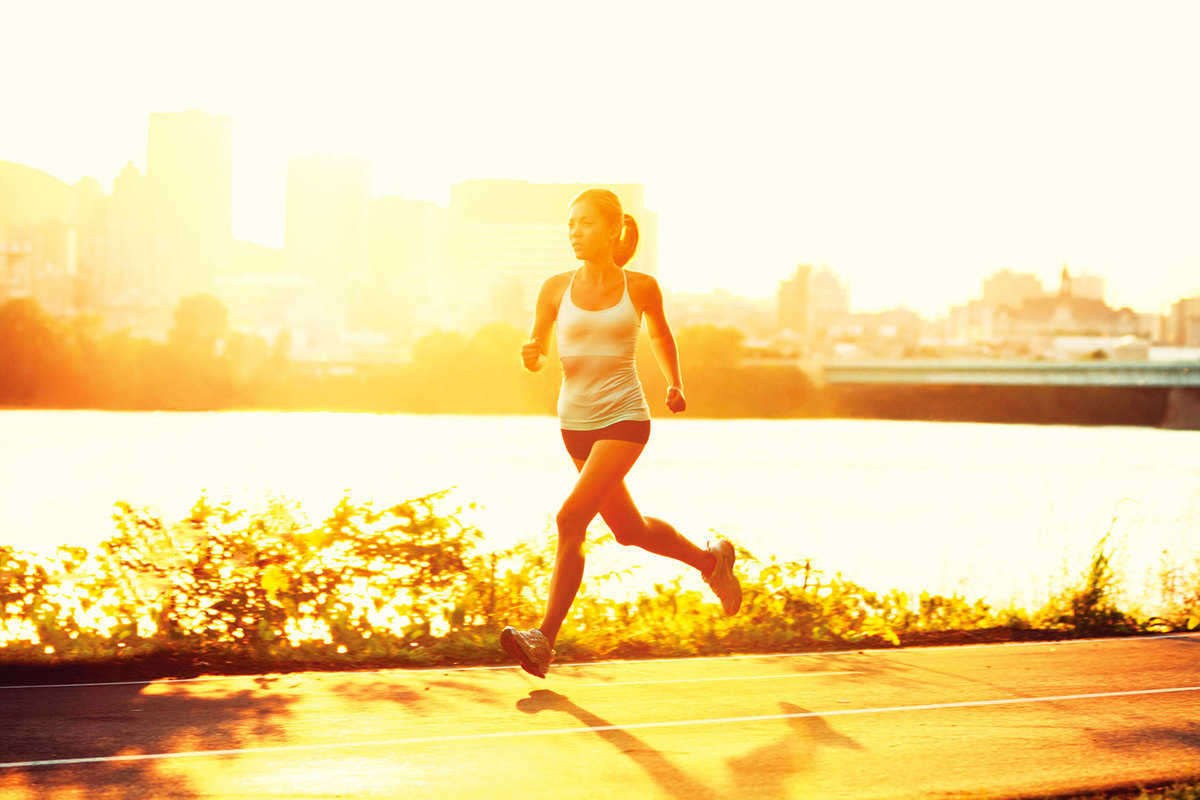規律運動可以讓汗腺暢通不堵塞,就不容易產生汗臭。(shutterstock)