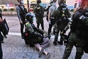旺角被捕者警車內失知覺 一度需要心肺復甦