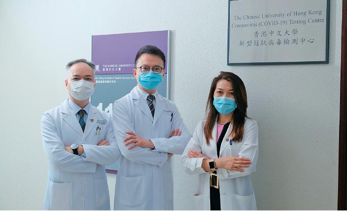 中大證嬰孩患者糞便帶中共病毒