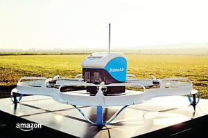 亞馬遜獲無人機送貨許可 或將開始30分鐘投遞服務