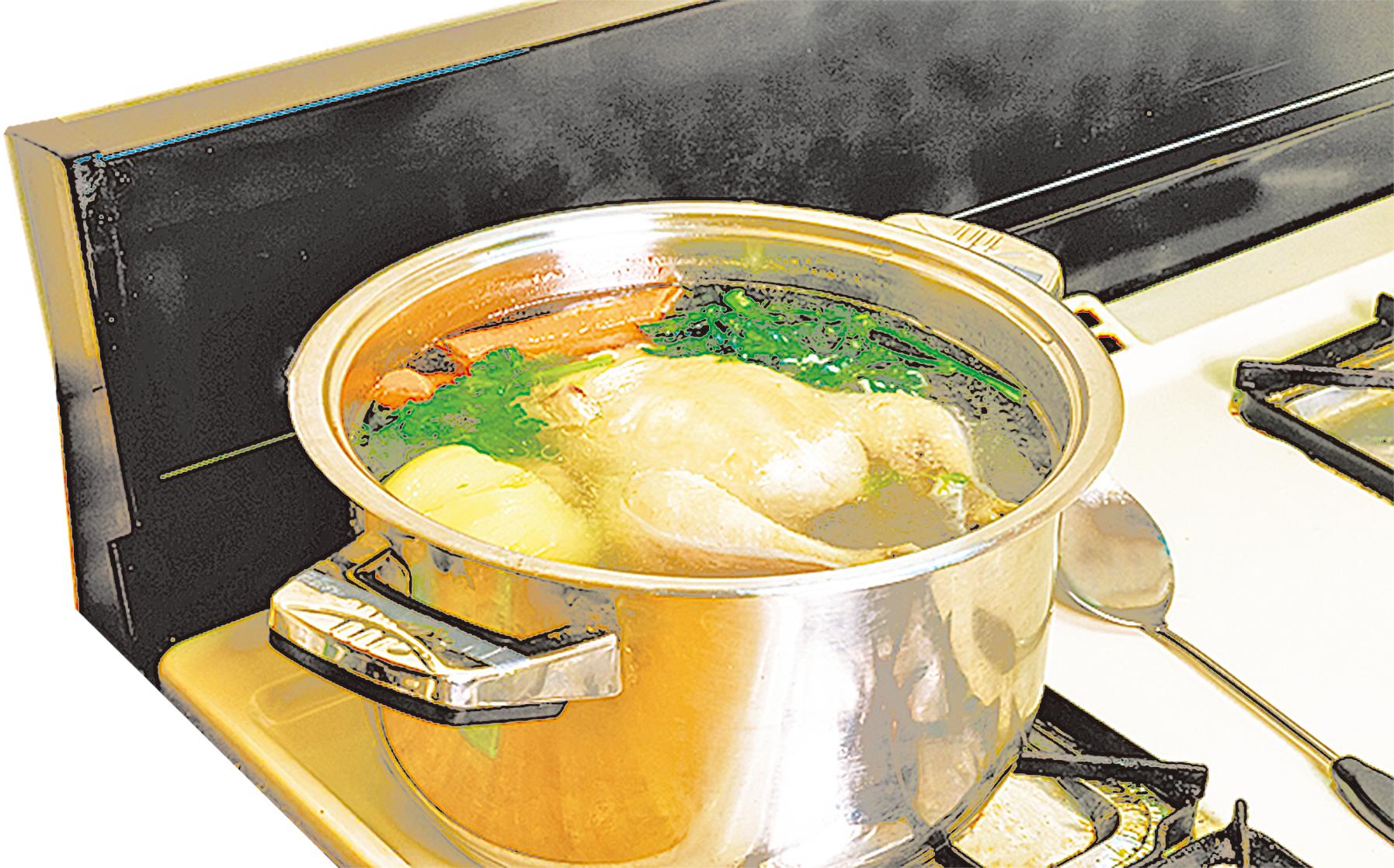 加熱是最有效的食物殺菌法,充份加熱吃了更安心。