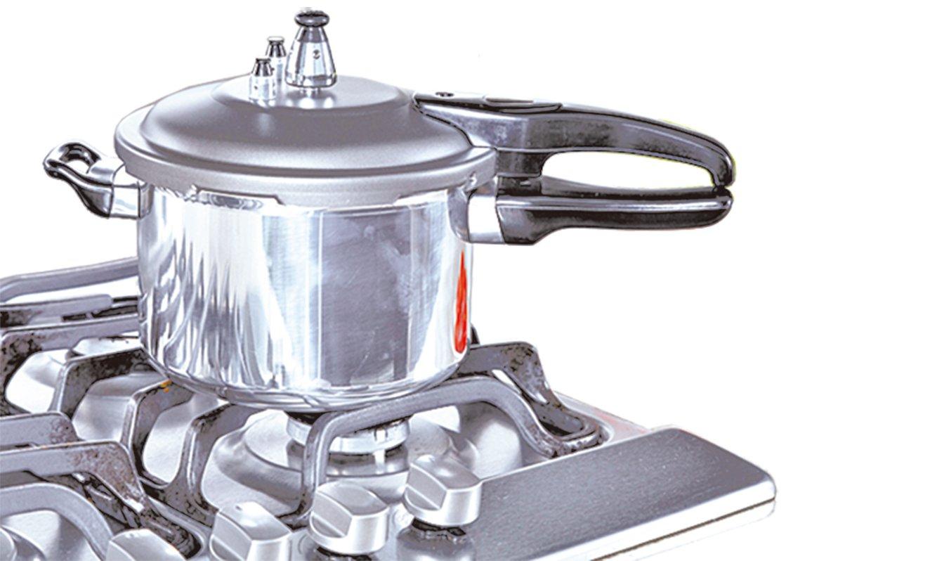 使用壓力鍋這種能夠提高溫度的調理器,更能確保殺菌效果。