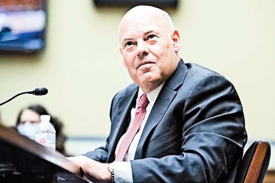 特朗普同意調查郵政總局局長德喬伊