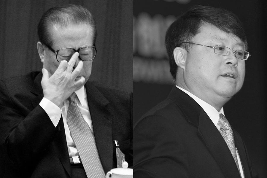 今年以來,習近平陣營開始全面圍剿江澤民家族。江家父子被控的消息頻傳。今年北戴河會議期間,有三大不利消息涉及江澤民家族。(Getty Images)