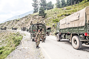 中共國防部長 承認中印邊界衝突失利