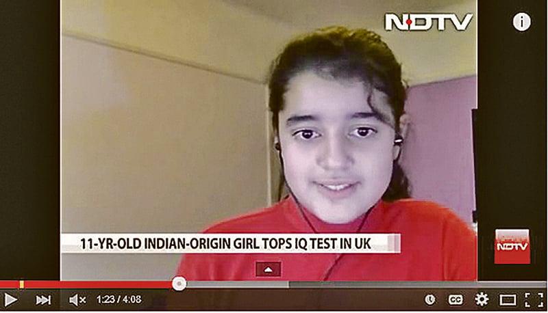 兩名11歲英國女孩智商162 高過愛因斯坦與霍金