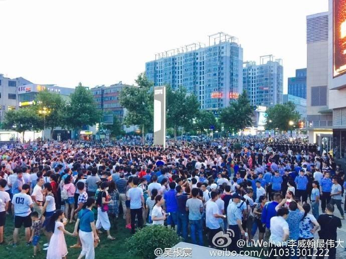 江蘇萬民抗議持續 政府封鎖消息人心惶惶