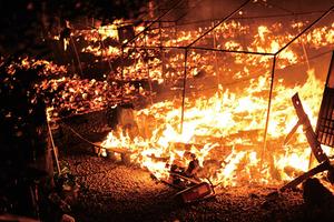 希臘最大難民營一天兩宗大火