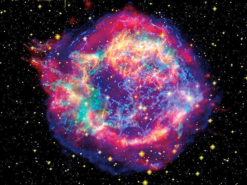 海洋深處發現超新星遺蹟