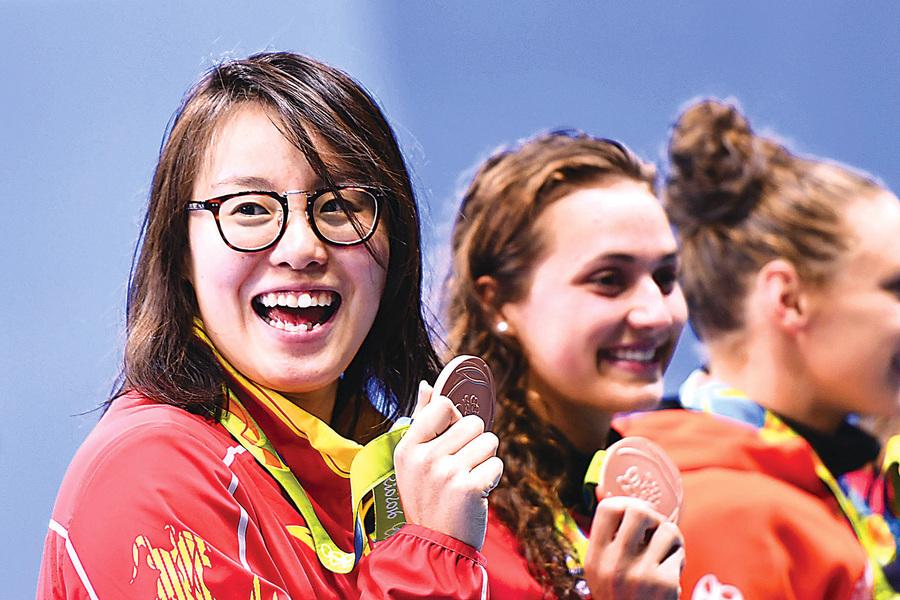 奧運「洪荒少女」英媒也關注