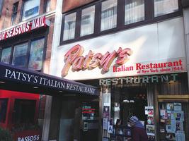 紐約意式家庭餐廳 Patsy's 七十多年來名人雲集