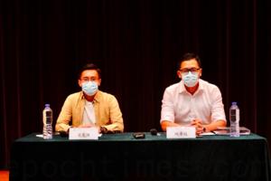 林卓廷、梁晃維辯論「臨立會」 釐清延任與杯葛理據