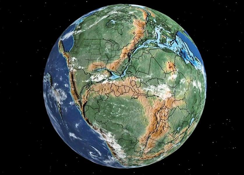 新地圖告訴:你家鄉曾有哪些恐龍出沒