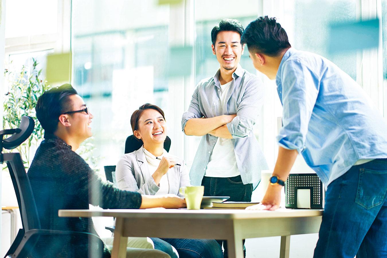 選擇全心投入工作的人,同事可能會成為相處時間最多的夥伴。