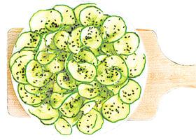 營養師:青瓜適合減肥 推薦兩道食譜