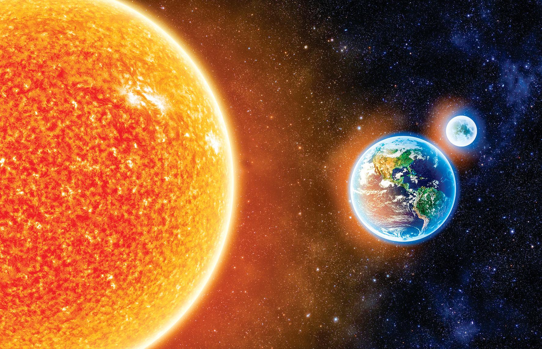 張衡《靈憲》:「日月運行,歷示吉凶,五緯(五星)經次,用告禍福,則天心於是見矣。」(Shutterstock)